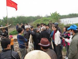 Báo chí, truyền thông mạng tham gia đưa tin bài, phóng sự về vụ Tiên Lãng