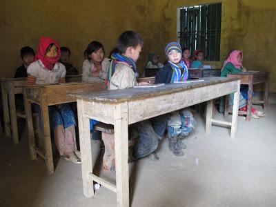 Tiểu học ở Lũng Pù (Mèo Vạc) - Nơi này chưa bao giờ có điện