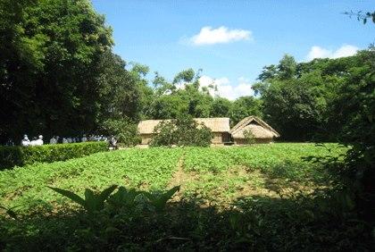 Ngôi nhà ở làng Hoàng Trù
