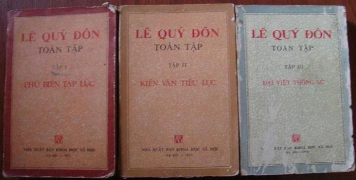 Sau 02 thế kỷ mà hậu thế DÁM xuất bản TOÀN TẬP của cụ Lê Quý Đôn ?