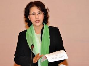 Phó Chủ tịch quốc hội Nguyễn Thị Kim Ngân