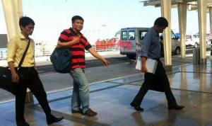 Blogger Trương Duy Nhất bị bắt giữ hồi giữa năm ngoái vì 'vi phạm pháp luật theo điều 258 Bộ luật Hình sự Việt Nam'