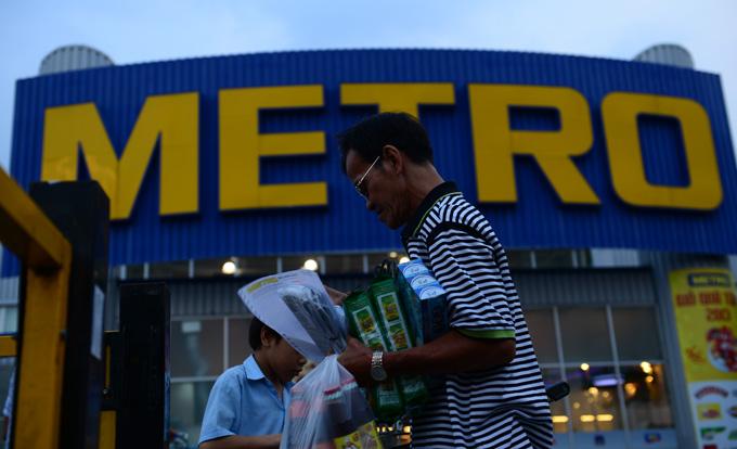Là một trong những nhà đầu tư nước ngoài mở rộng mạnh mẽ kênh phân phối ở VN, nhưng Metro vẫn báo lỗ tại thị trường này - Ảnh: Thuận Thắng