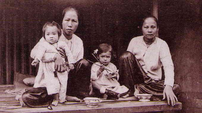 Áo bà ba của người Nam bộ xưa - Ảnh: tư liệu TTXVN