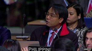 Trưởng đoàn đàm phán Philiipines COP 19 Yeb Sano