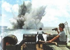 Hải chiến Hoàng Sa 1974 khai hỏa.