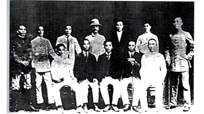 Một số lưu học sinh Việt Nam trong phong trào Đông Du (1905-1909) (ảnh tư liệu, GS Chương Thâu sưu tầm)