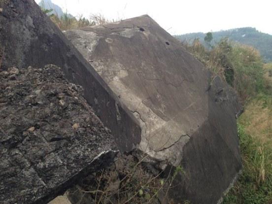 Một góc pháo đài Đồng Đăng