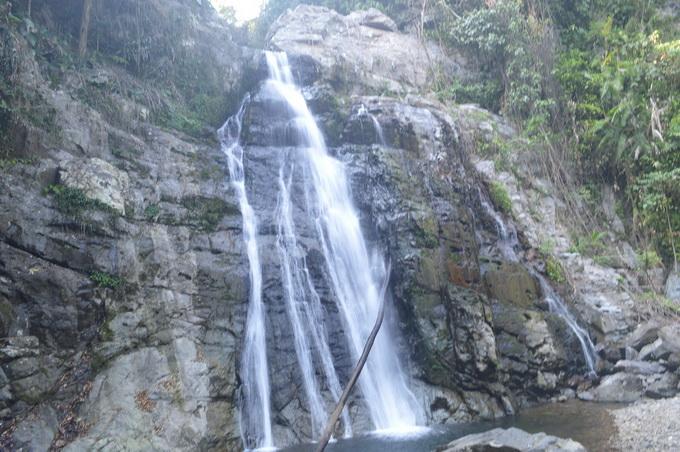 Tầng 1 thác Grăng