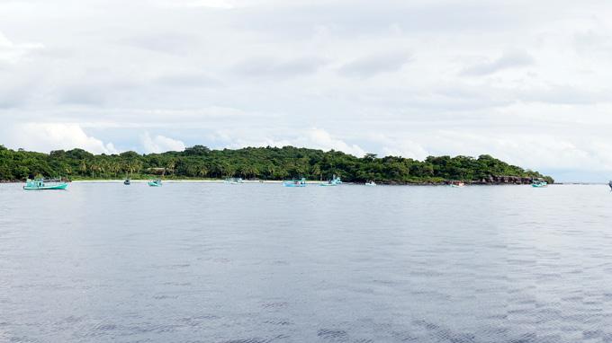 Cảnh Hòn Từ nằm trong quần đảo Thổ Chu