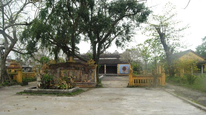 Đình làng Chuồn được công nhận di tích văn hóa cấp quốc gia từ năm 1994