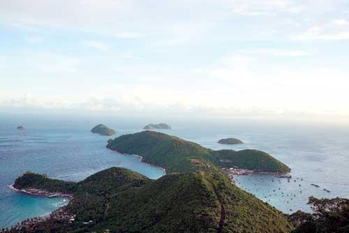 Quần đảo Nam Du đẹp như một bức tranh