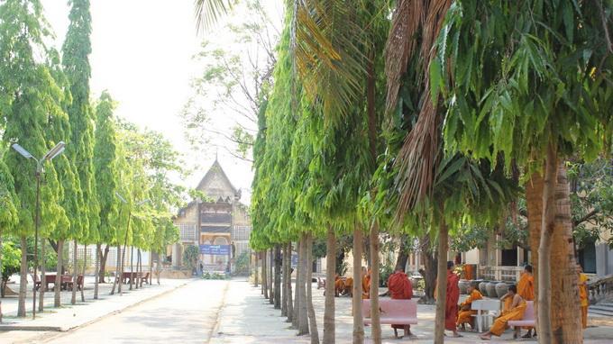Một ngôi chùa ở Battambang