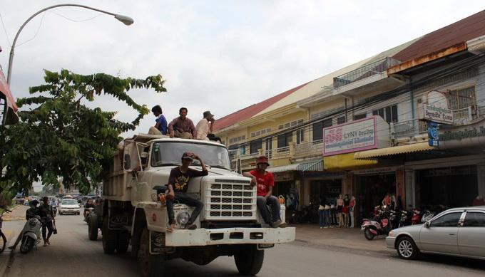 Đường phố Battambang