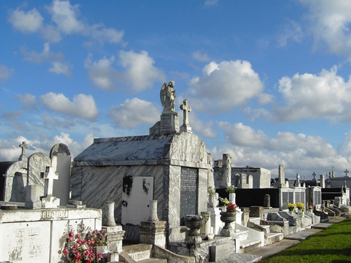 1, Nghĩa trang St. Louis No.1, New Orleans, Louisiana, Mỹ