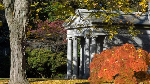 8. Nghĩa trang Woodlawn, New York, Mỹ.