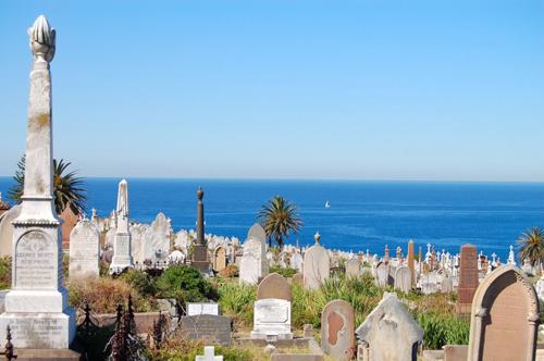 9. Nghĩa trang Waverley, Sydney, Australia.