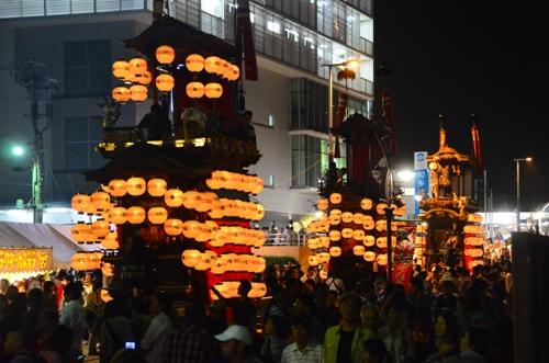 Lễ hội mùa hè tại thành phố Handa, tỉnh Ai Chi, Nhật Bản. Đất nước mặt trời mọc là một trong nhiều quốc gia còn lưu giữ khá nhiều truyền thống từ nhiều đời.
