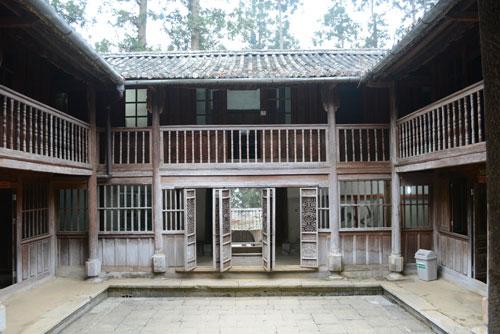 Khu dinh thự nhà Vương trên cao nguyên đá Đồng Văn.