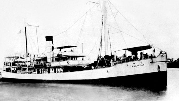 Tàu De Lanessan - Ảnh: Bảo tàng Hải dương học