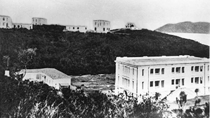 Viện Hải dương học Nha Trang năm 1926 - Ảnh: Bảo tàng Hải dương học