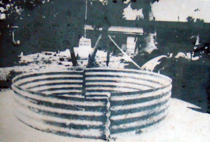 Giếng nước ngọt do người Pháp và Việt xây trên đảo Hoàng Sa - Ảnh tư liệu
