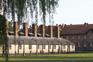 Phòng hơi ngạt và lò thiêu người số 1 ở trại Auschwitz. Trong các năm 1943 và 1944, các phòng hơi ngạt và lò thiêu người ở Auschwitz hoạt động với công suất kinh khủng: tính đến mùa xuân 1944, trung bình mỗi ngày, có 8.000 người bị giết theo cách này.