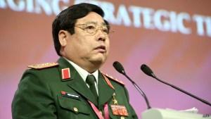 Tướng Thanh tại Shangri-La.