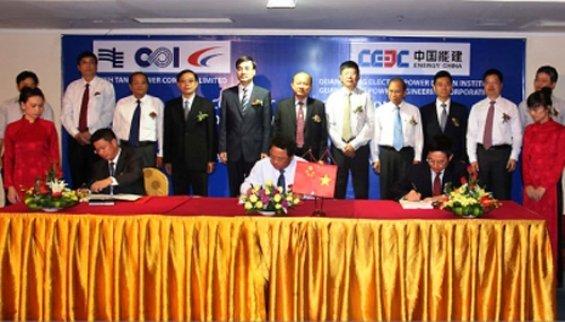 Dứ án đầu tư lớn nhất của Trung Quốc là dự án BOT nhà máy nhiệt điện Vĩnh Tân 1 ở Phan Thiết, do tập đoàn lưới điện Phương Nam TQ liên doanh với Vinacomin, vừa ký hợp đồng BOT hôm 25-3 vừa qua