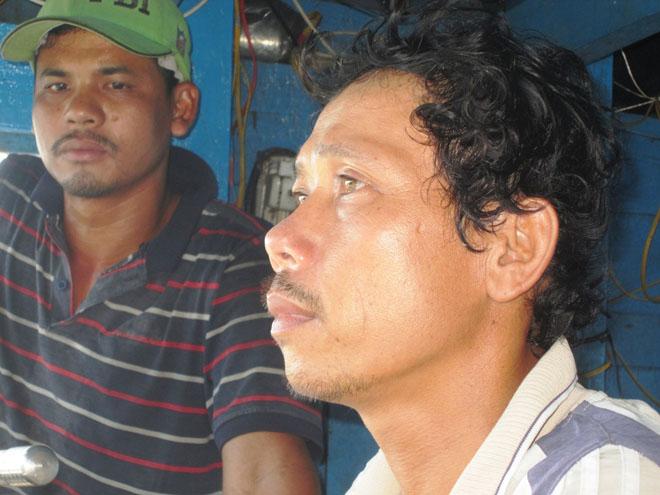 Anh Trần Xi và Nguyễn Nguyễn Ngọc Quý kể lại chuyến ra khơi hãi hùng