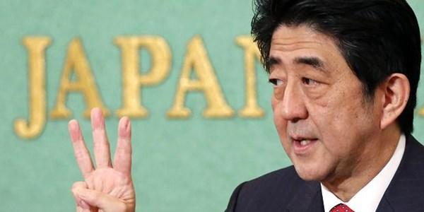 Ông Abe liên tục chỉ trích hành vi của Trung Quốc trên biển Đông