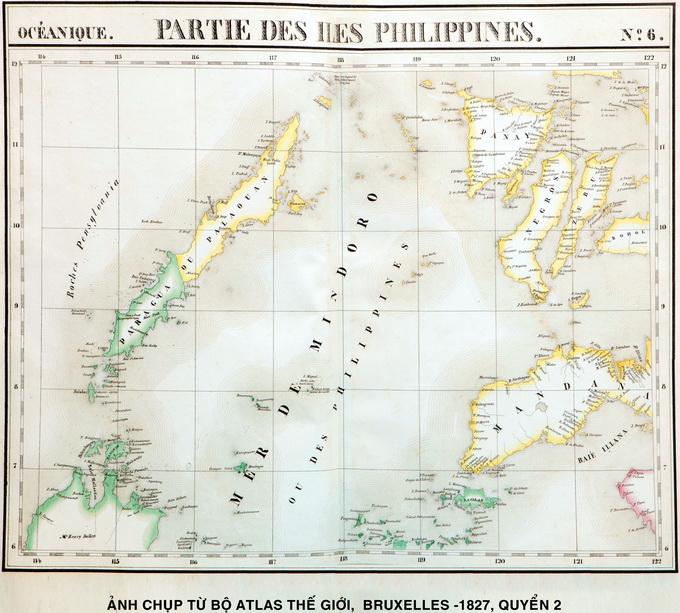 Bộ Atlas thế giới xuất bản năm 1827