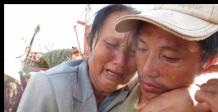 Ngày về đẫm lệ của ngư dân bị Trung Quốc bắt