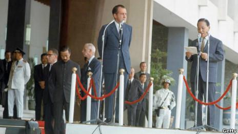 Việc TT Nixon từ chức không nằm trong 'mong muốn' của TT Thiệu.