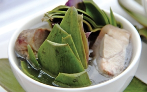 """Món giò heo hầm atisô được ưa chuộng nhất tại ngày hội ẩm thực """"Hương vị quê nhà"""""""