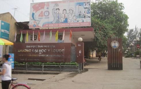 Đại học Y Dược Thái Nguyên.
