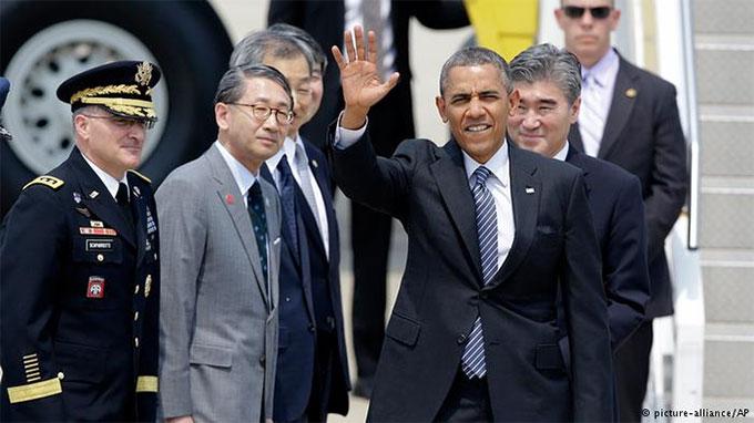 Giàn khoan Haiyang Shiyou 981 đã được đưa tới vùng biển đặc quyền kinh tế Việt Nam sau khi Tổng thống Mỹ Obama vừa kết thúc chuyến thăm châu Á và trước khi Tổng thống Nga thăm Trung Quốc.