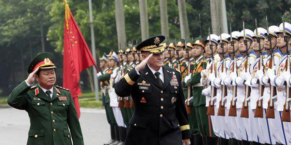 Tướng Martin Dempsey thăm Hà Nội