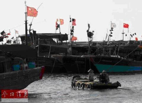 Tàu cá Trung Quốc chuẩn bị ra khơi