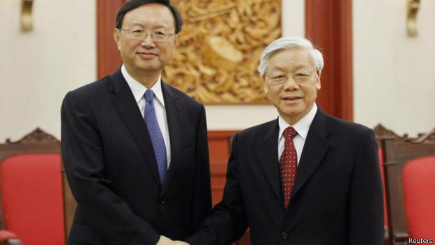 Quan hệ Việt - Trung đã rạn nứt trông thấy trong mấy tháng qua