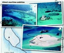 Trung Quốc không ngừng đe dọa các bãi đá của Trường Sa, từ bãi đá Cô Lin đến Gạc Ma và nay là bãi Chữ Thập.
