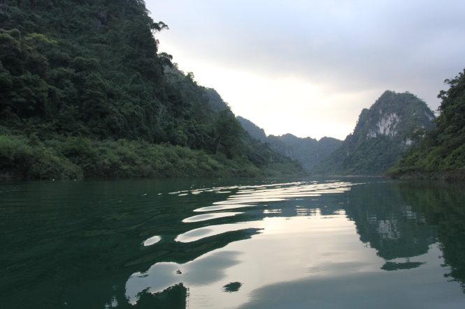 Hồ Thang Hen thuộc huyện Trà Lĩnh, Cao Bằng