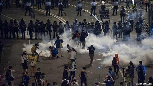Truyền thông tại đại lục hoàn toàn không đưa tin về những cuộc biểu tình ở Hong Kong