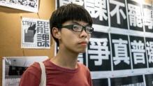 Hãng tin CNN đăng tải chân dung Joshua Wong, người phát động phong trào kêu gọi sinh viên Hồng Kông bãi khóa biểu tình đòi dân chủ