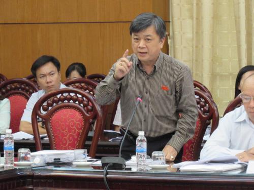 Ông Trương Trọng Nghĩa cho rằng bức cung, nhục hình làm suy yếu chế độ - Ảnh: Thái Sơn