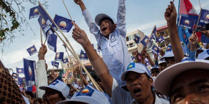 vận động tranh cử ở Cambodia