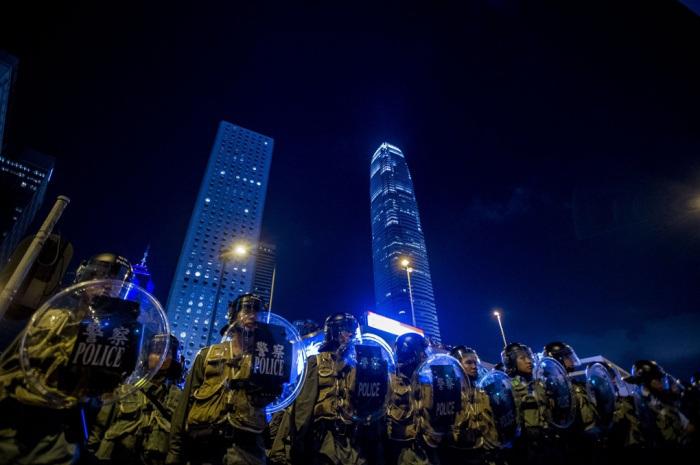 Cảnh sát HK bây giờ. Ảnh: internet