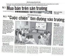 Loạt bài trên báo Tuổi Trẻ