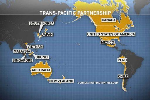 Bản đồ TPP